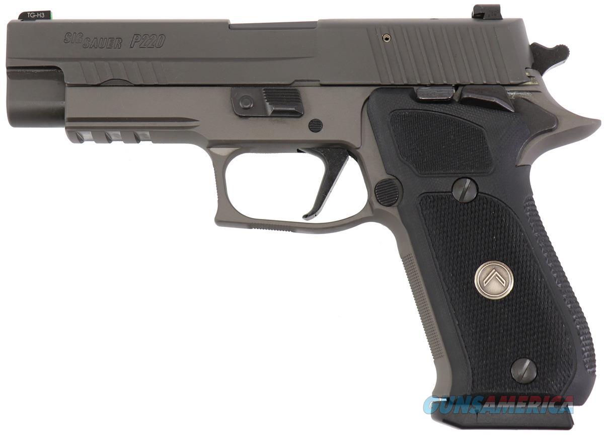 "Sig Sauer P220 Legion SAO .45 ACP 4.4"" Gray 220R45LEGIONSAO   Guns > Pistols > Sig - Sauer/Sigarms Pistols > P220"