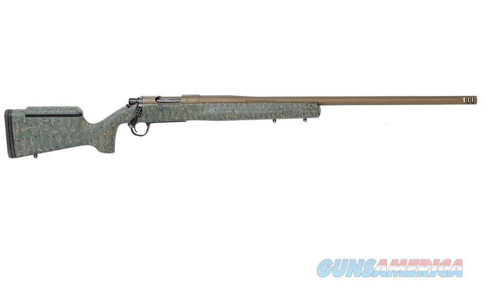 "Christensen Arms Mesa Long Range .308 Win 24"" Green / Black & Tan 801-02007-00   Guns > Rifles > Custom Rifles > Bolt Action"