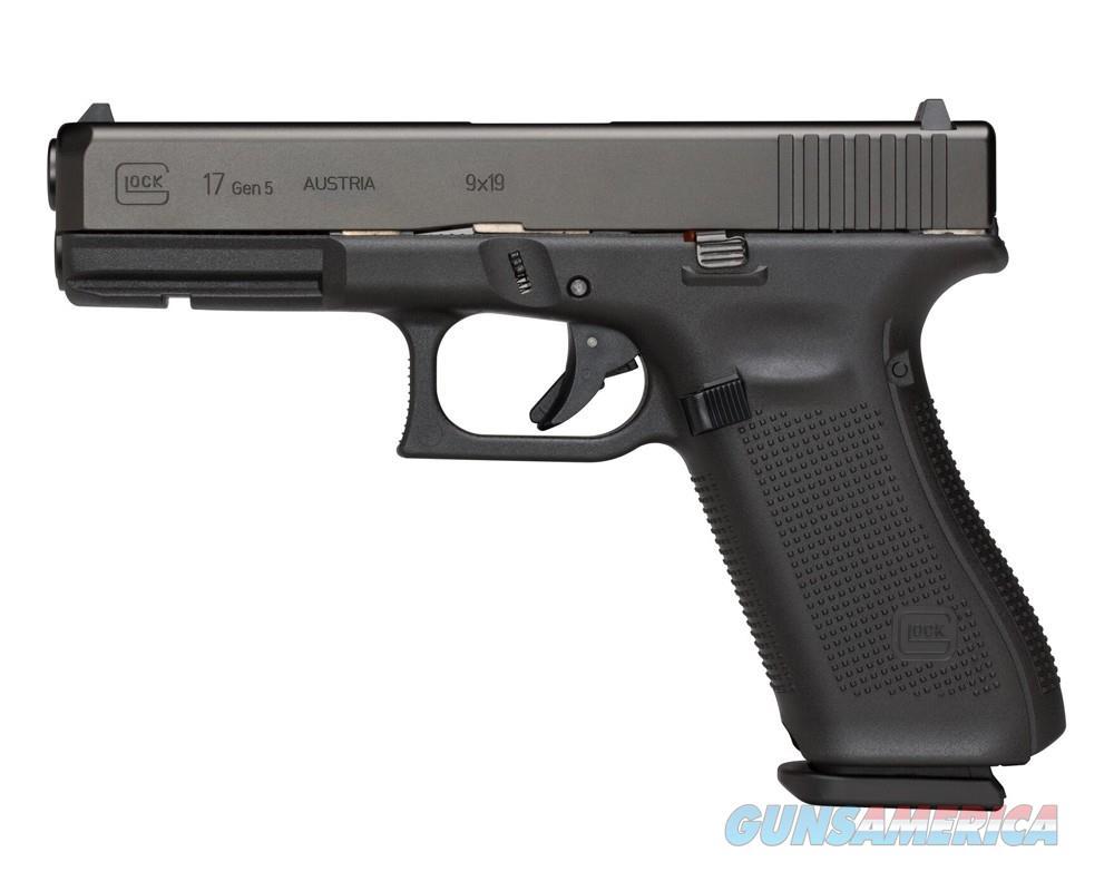 "Glock G17 Gen 5 9mm 4.49"" 17 Rounds PA1750203   Guns > Pistols > Glock Pistols > 17"