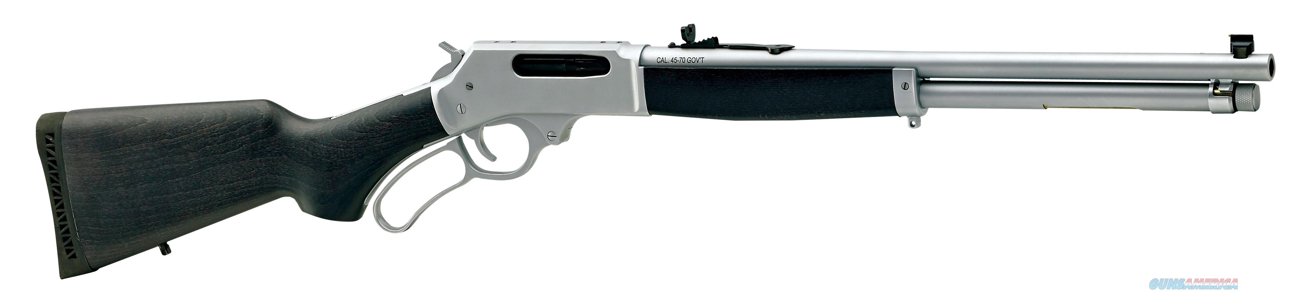 "Henry All-Weather Lever Action .45-70 Govt 18.43"" 4 Rds H010AW  Guns > Rifles > Henry Rifle Company"