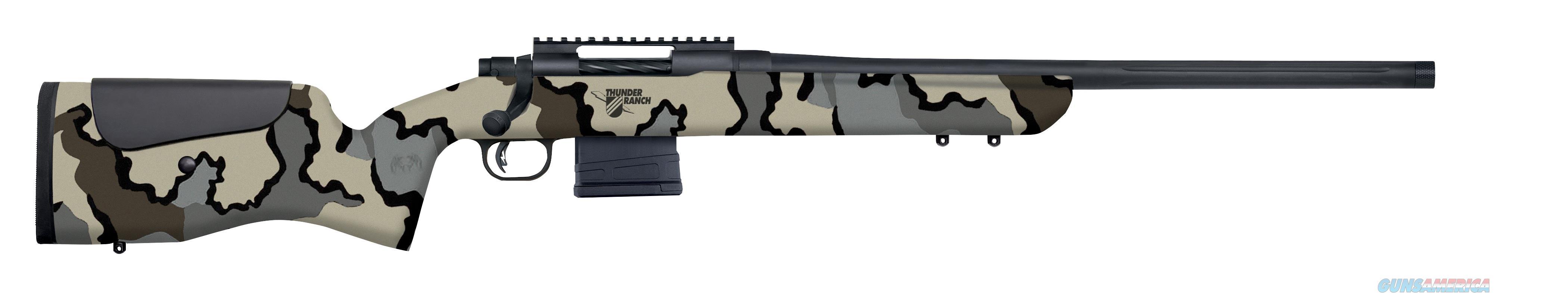 "Mossberg MVP LR Thunder Ranch 7.62 NATO 20"" Kuiu Camo 28041  Guns > Rifles > Mossberg Rifles > MVP"