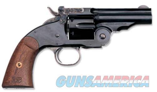 "Uberti 1875 No. 3 Top Break 2nd Model .45 Colt 3.5"" 348530   Guns > Pistols > Uberti Pistols > Ctg."