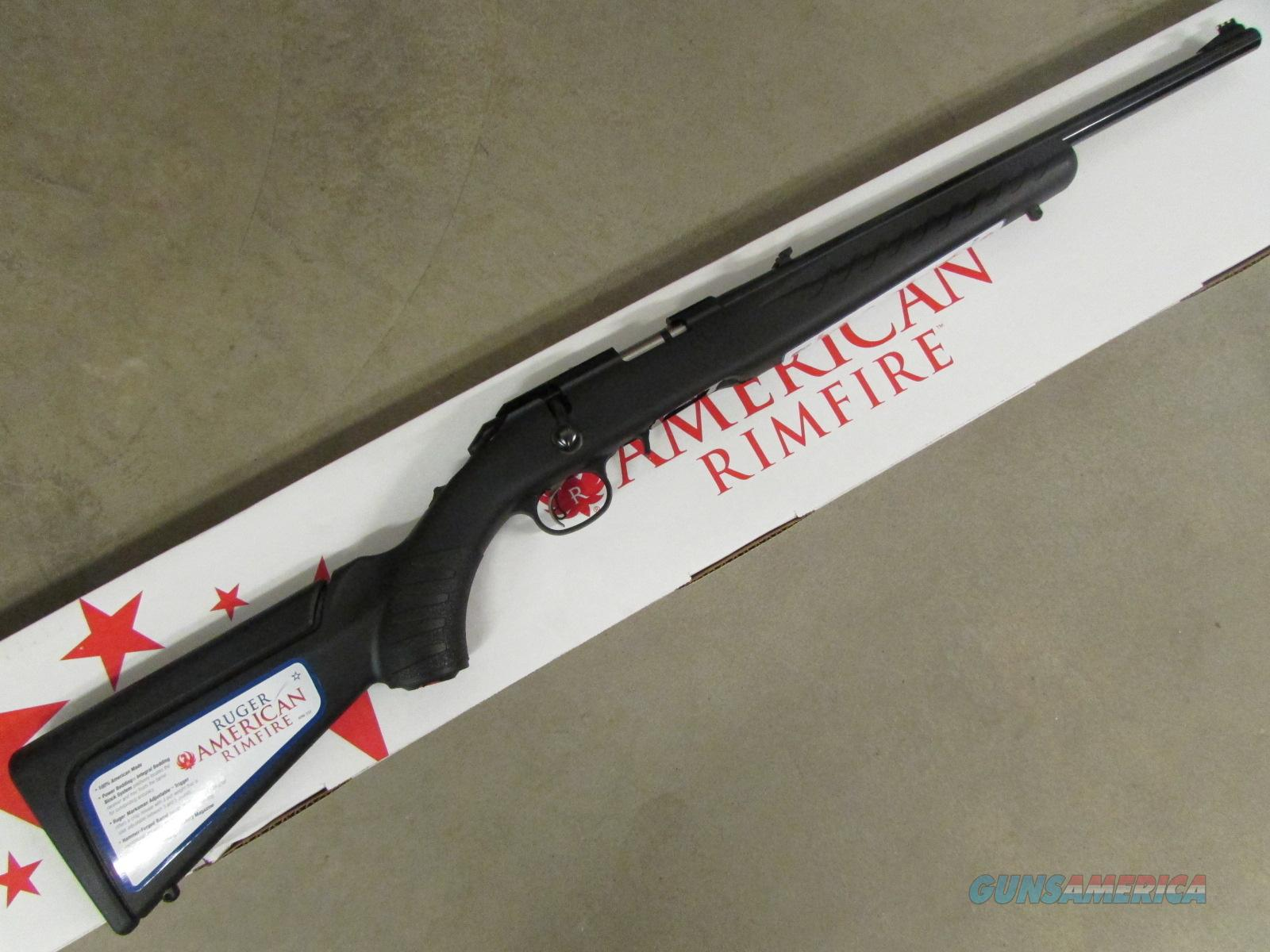 Ruger American Rimfire Compact Bolt-Action .22 WMR 8323  Guns > Rifles > Ruger Rifles > American