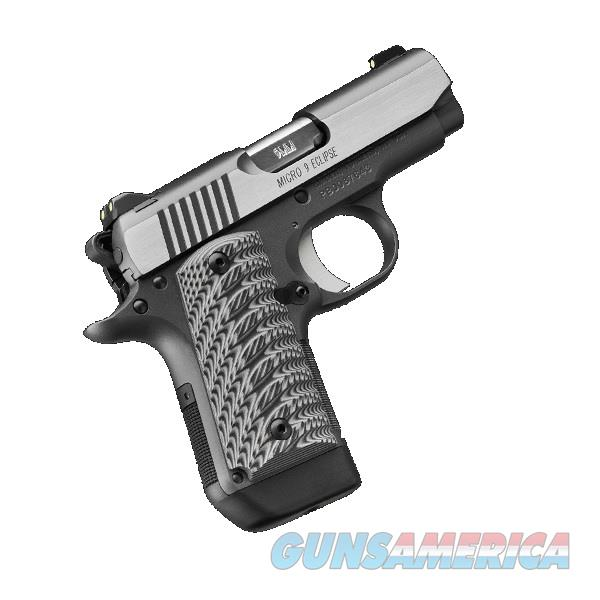 "Kimber Micro 9 Eclipse (NS) 9mm 3.15"" 7 Rds 3300189  Guns > Pistols > Kimber of America Pistols > Micro 9"