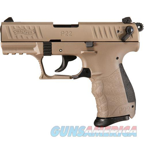 "Walther P22 QD Tactical .22 LR FDE 3.42"" TB 5120553   Guns > Pistols > Walther Pistols > Post WWII > P22"