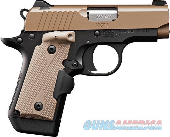 "Kimber Micro Desert Tan (LG) .380 ACP 2.75"" 3300177   Guns > Pistols > Kimber of America Pistols > Micro"
