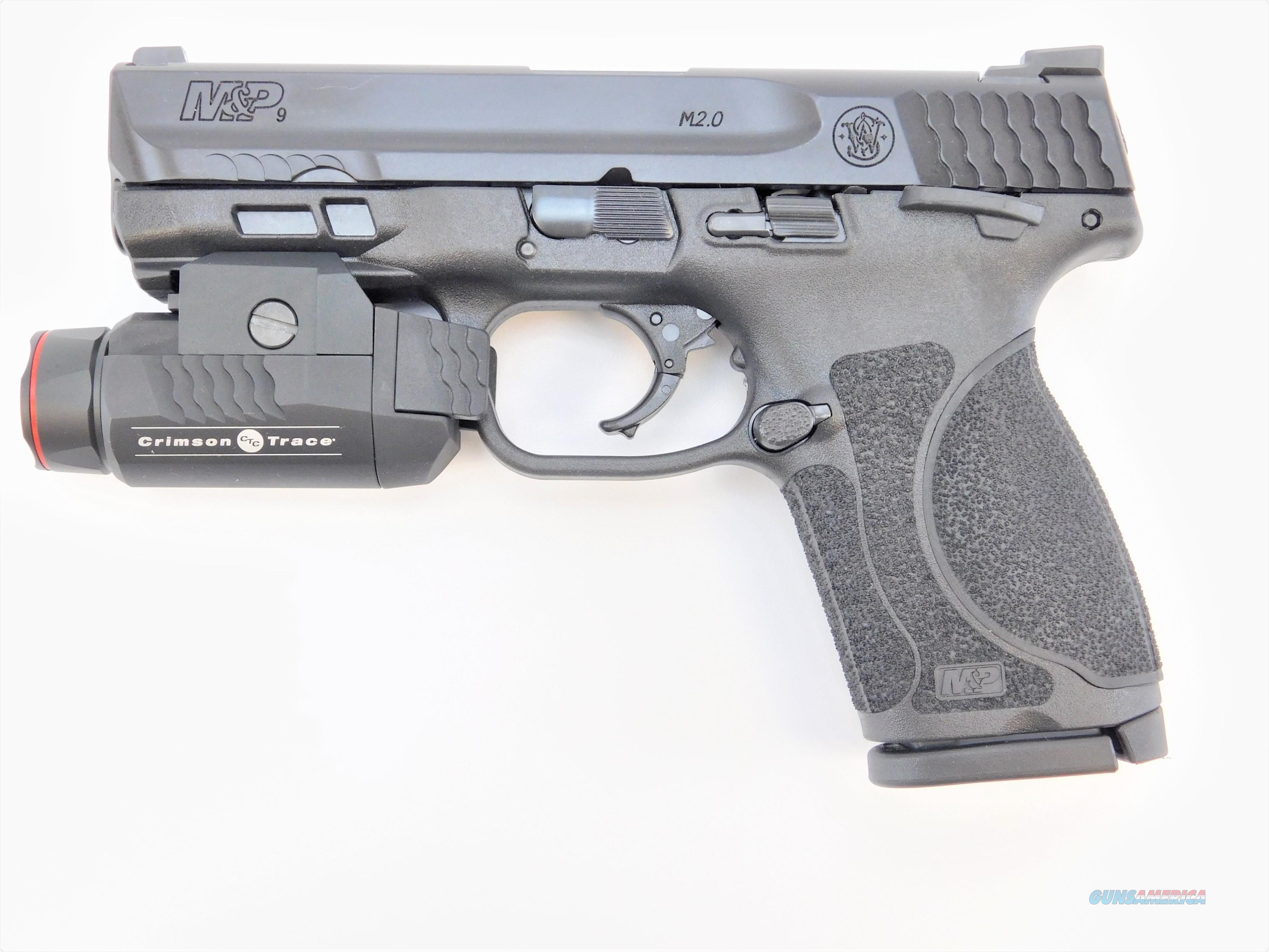 """Smith & Wesson M&P9 M2.0 9mm 4"""" w/CT Tactical Light 12412   Guns > Pistols > Colt Automatic Pistols (1911 & Var)"""