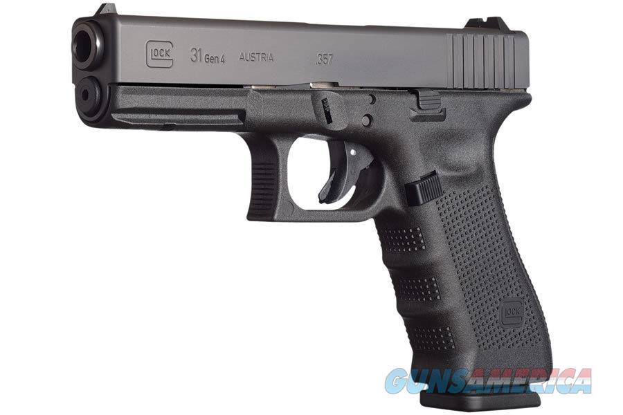 "Glock G31 Gen4 .357 Sig 4.48"" 15 Rounds PG3150203   Guns > Pistols > Glock Pistols > 31/32/33"