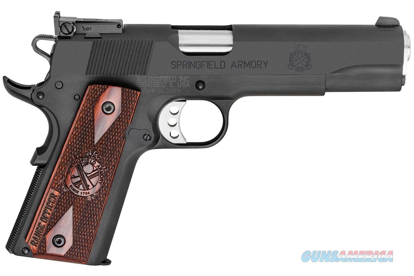 "Springfield 1911 Range Officer 9mm 5"" 9rd Parkerized PI9129L   Guns > Pistols > Springfield Armory Pistols > 1911 Type"