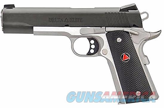 "Colt Delta Elite TT 10mm 5"" Two-Tone 8 Rds  O2020XE-TT   Guns > Pistols > Colt Automatic Pistols (1911 & Var)"