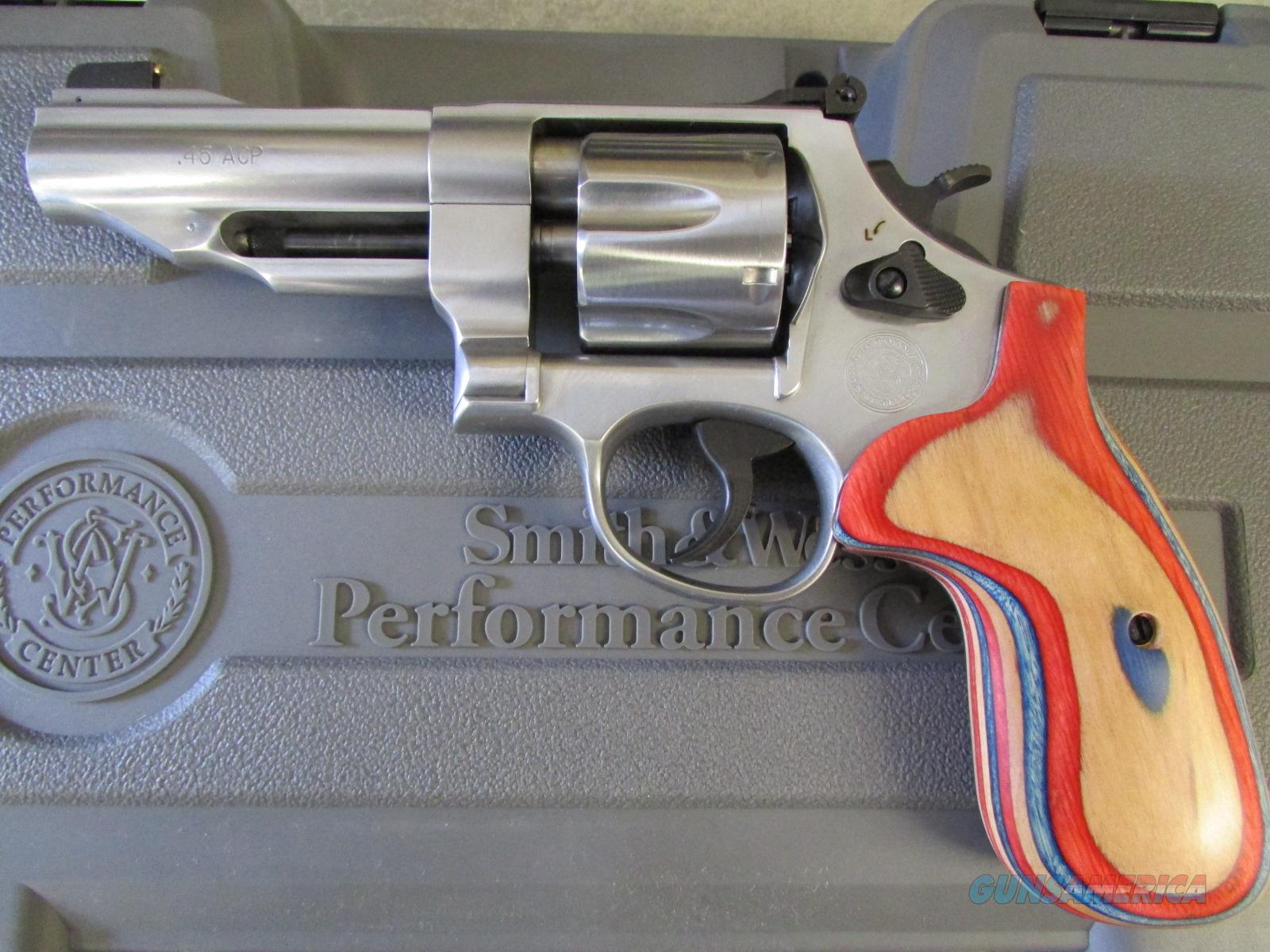 Smith & Wesson Model 625 Performance Center .45 ACP Revolver  Guns > Pistols > Smith & Wesson Revolvers > Performance Center
