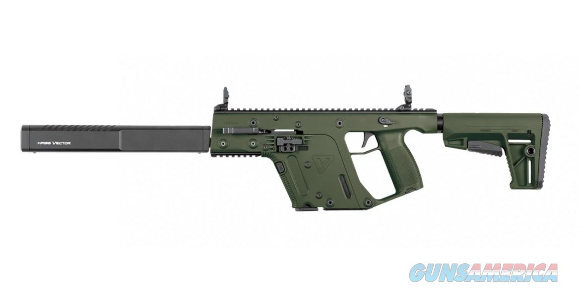 "Kriss Vector Gen II CRB 9mm OD Green 16"" KV90-CGR20   Guns > Rifles > Kriss Tactical Rifles"