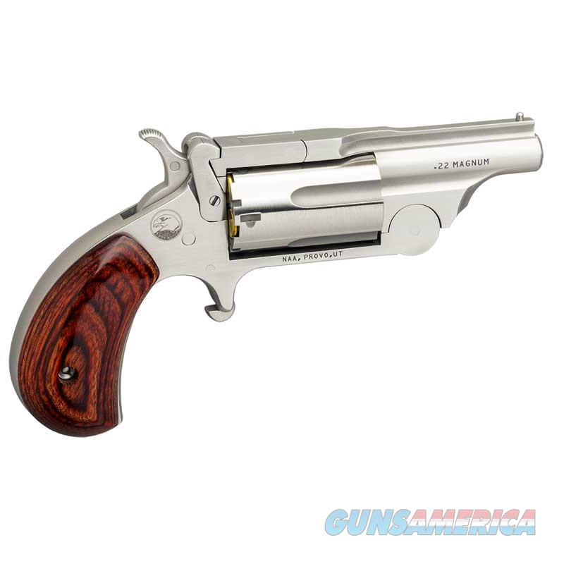"NAA Ranger II .22 Magnum 1.625"" Stainless NAA-22M-BTII   Guns > Pistols > North American Arms Pistols"