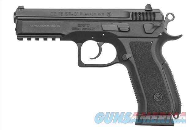 "CZ-USA CZ 75 SP-01 Phantom 9mm 4.6"" 18Rd 91258   Guns > Pistols > CZ Pistols"