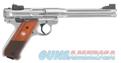 "Ruger Mark IV Hunter .22 LR  6.88"" Stainless  40118   Guns > Pistols > Ruger Semi-Auto Pistols > Mark I/II/III/IV Family"