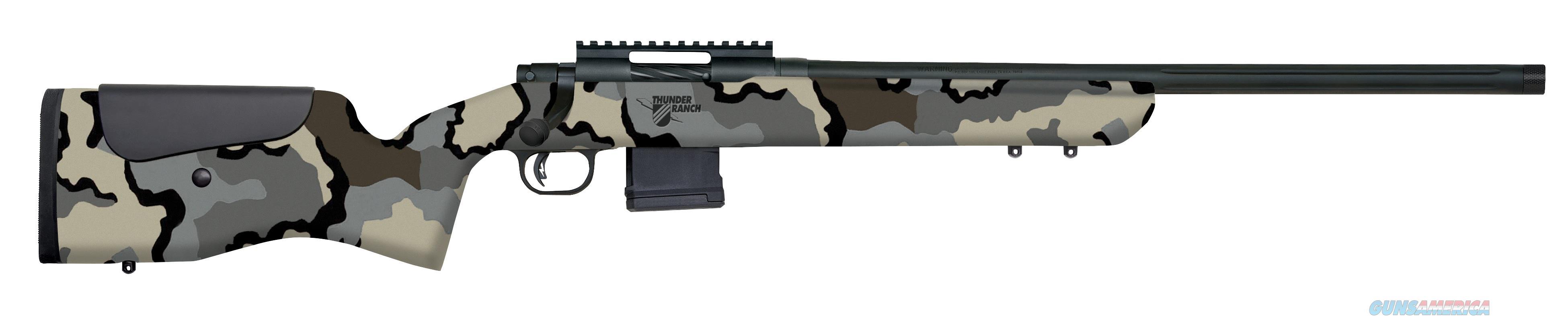 "Mossberg MVP LR Thunder Ranch 5.56 NATO 20"" Kuiu Camo 28040   Guns > Rifles > Mossberg Rifles > MVP"