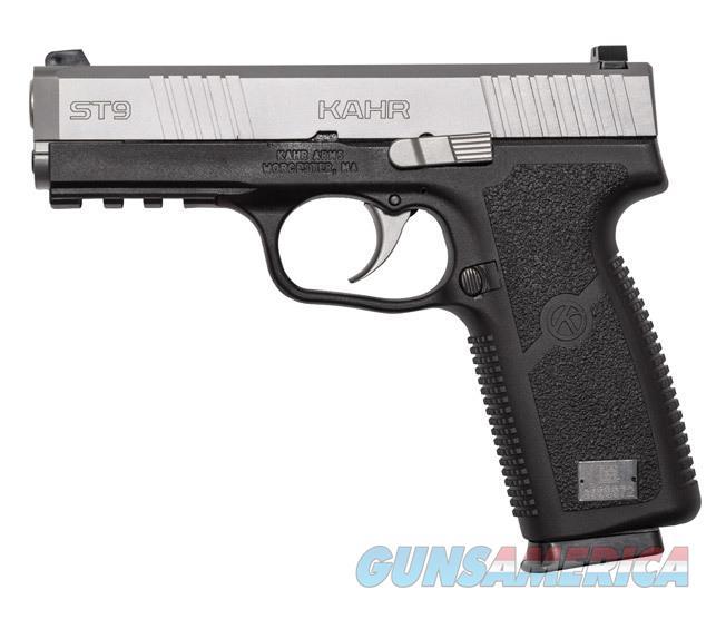 """Kahr Arms ST9 9mm 4"""" Black/Stainless 8 Rds ST9093   Guns > Pistols > Kahr Pistols"""