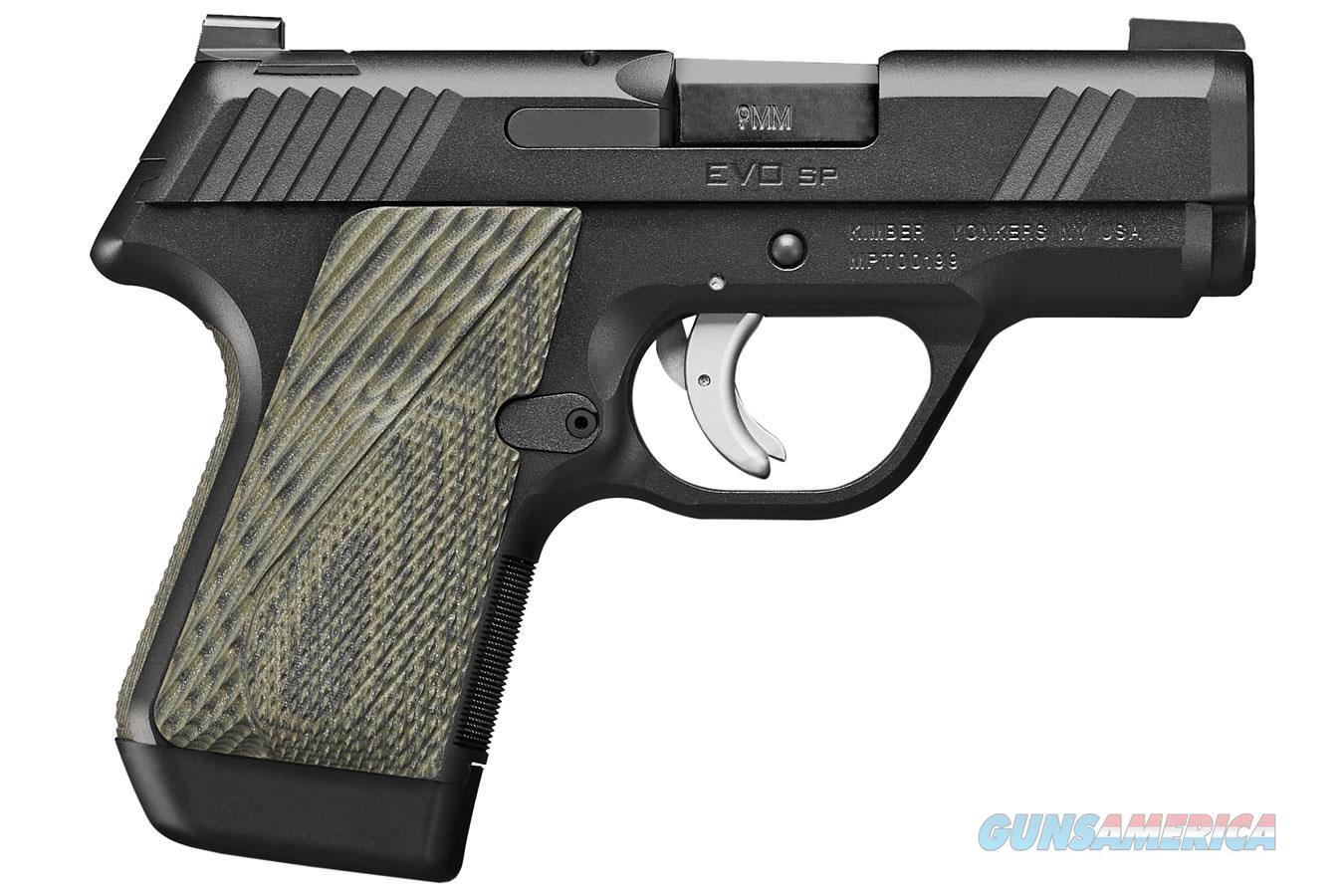 """Kimber EVO SP (TLE) 9mm 3.16"""" 7 Rds 3900012  Guns > Pistols > Kimber of America Pistols > 1911"""