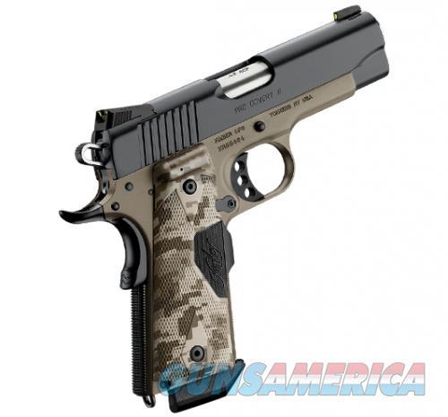 "Kimber Pro Covert II Desert Tan 1911 .45 ACP 4""  3200166  Guns > Pistols > Kimber of America Pistols > 1911"