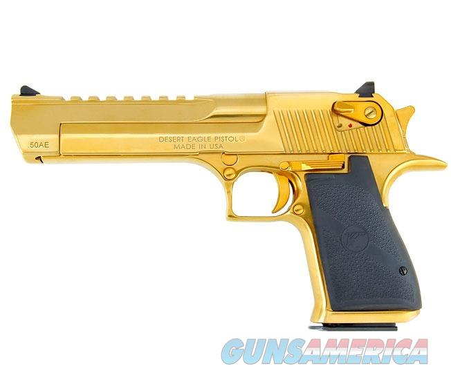 Magnum Research Desert Eagle Mark XIX .50 AE Titanium Gold DE50TG  Guns > Pistols > Magnum Research Pistols
