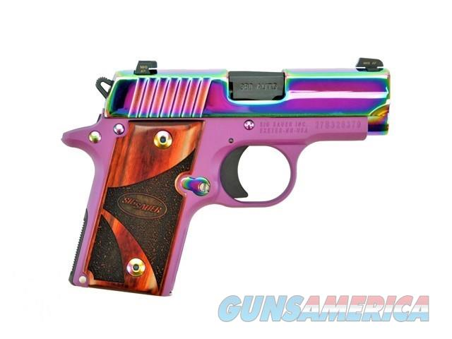 SIG SAUER P238 RBT Ti PVD .380 ACP CERAKOTE PURPLE   Guns > Pistols > Sig - Sauer/Sigarms Pistols > P238