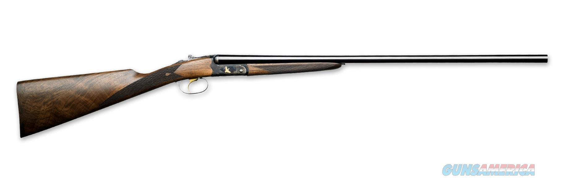 """Italian Firearms Iside Tartaruga Gold SxS 28 GA 28"""" 12732   Guns > Shotguns > Rizzini Shotguns"""