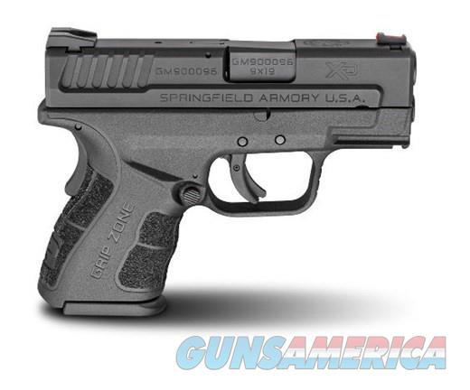 Springfield Armory XD Mod.2 Sub Compact 9mm Luger XDG9801HC  Guns > Pistols > Springfield Armory Pistols > XD (eXtreme Duty)