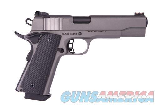 """Rock Island Rock Ultra FS 10mm 5"""" Tungsten Gray 51865   Guns > Pistols > Rock Island Armory Pistols > Rock Island"""