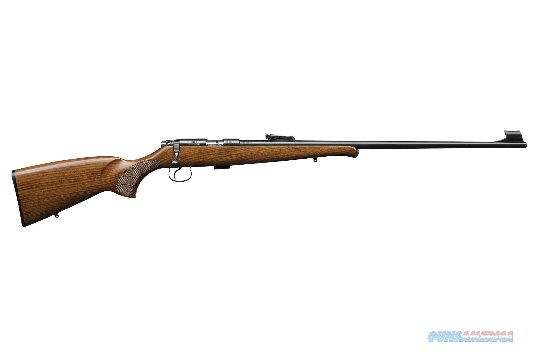 "CZ-USA 455 Training Rifle .17 HMR 24.8"" Beechwood SKU: 02103  Guns > Rifles > CZ Rifles"