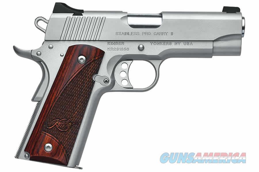 "Kimber Stainless Pro Carry II .45 ACP 4"" (2017) 3200324   Guns > Pistols > Kimber of America Pistols"