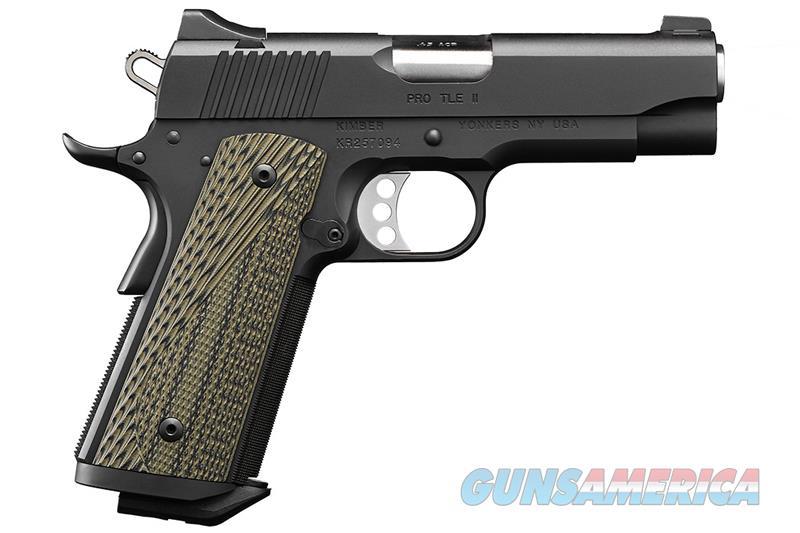 """Kimber Pro TLE II (EM) .45 ACP 1911 4"""" 7 Rds 3200371   Guns > Pistols > Kimber of America Pistols > 1911"""