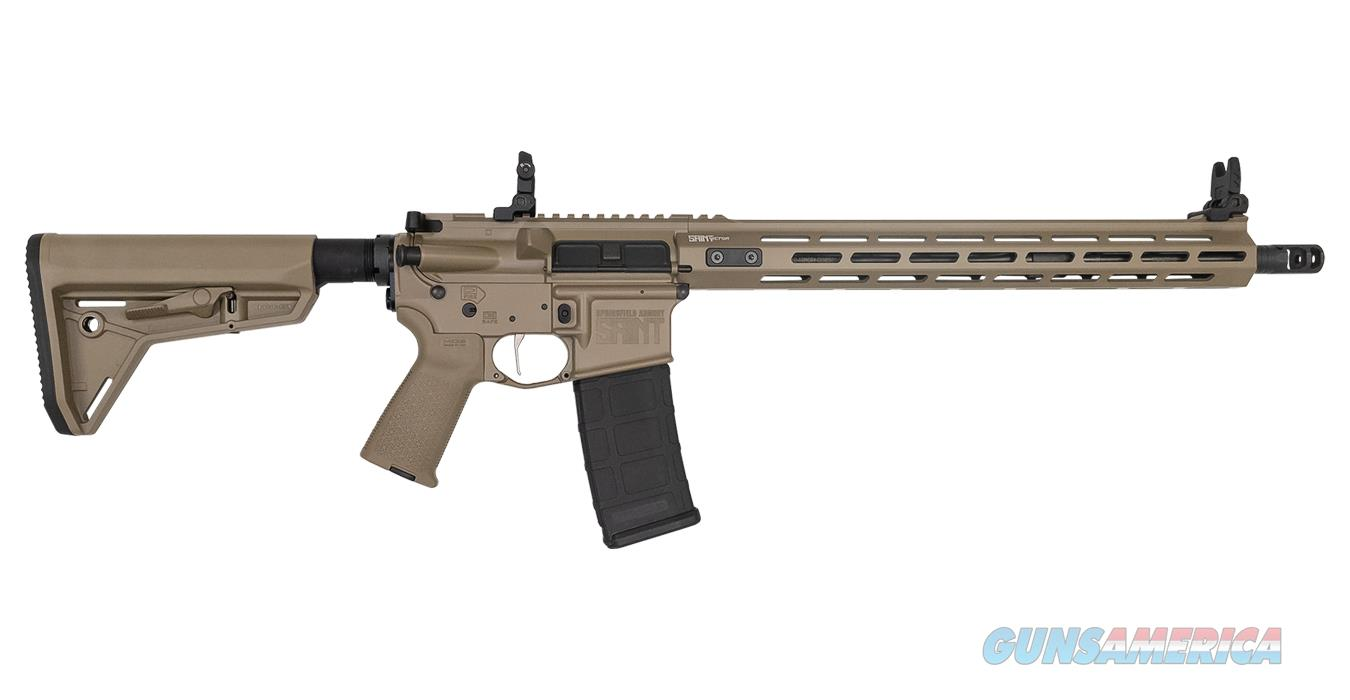 "Springfield SAINT Victor 5.56 NATO FDE 16"" STV916556F  Guns > Rifles > Springfield Armory Rifles > SAINT"