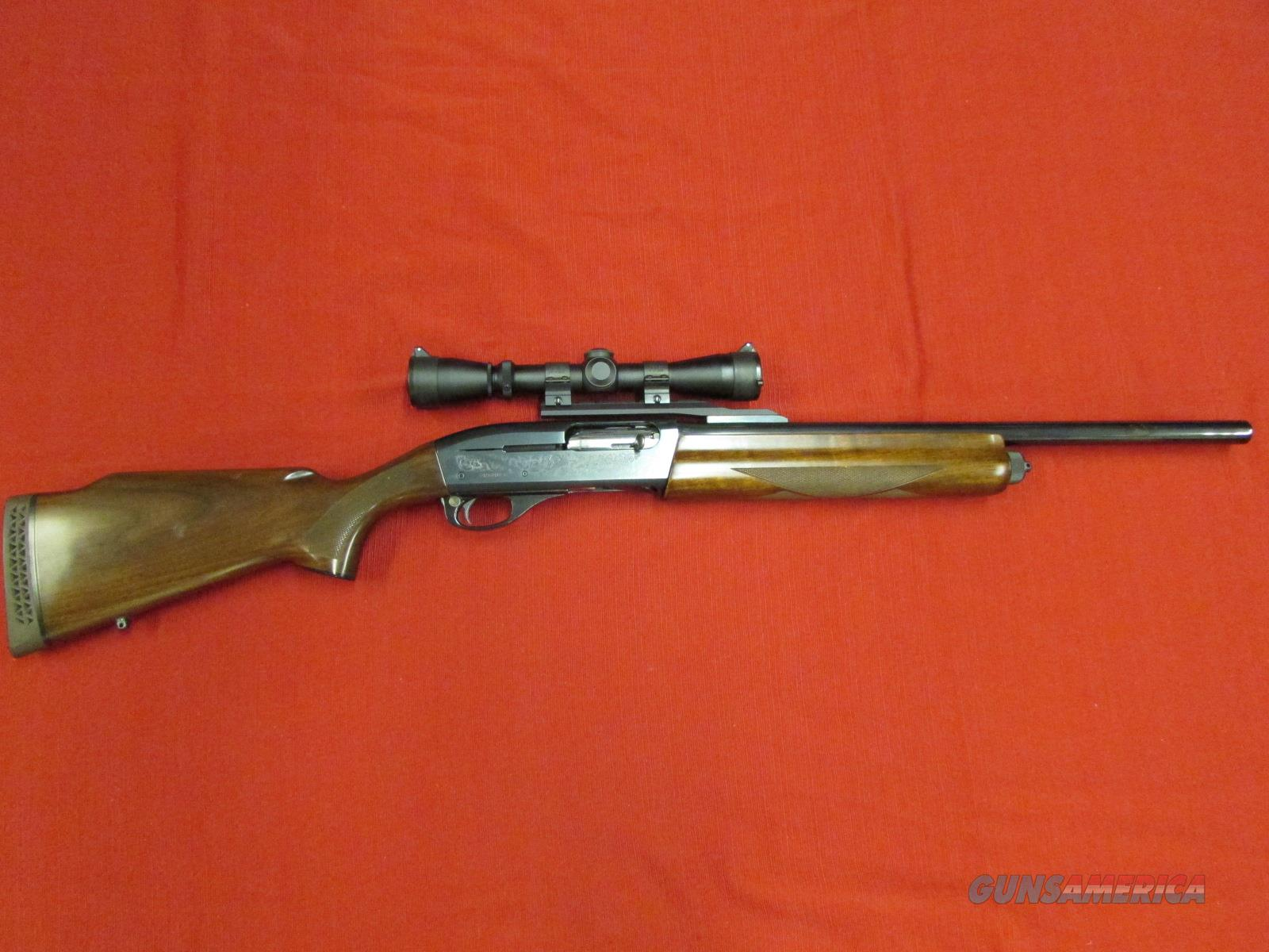 "REMINGTON 11-87 PREMIER 21"" CANTILEVER RIFLED SLUG W/ LEUPOLD VX-II  Guns > Shotguns > Remington Shotguns  > Autoloaders > Hunting"