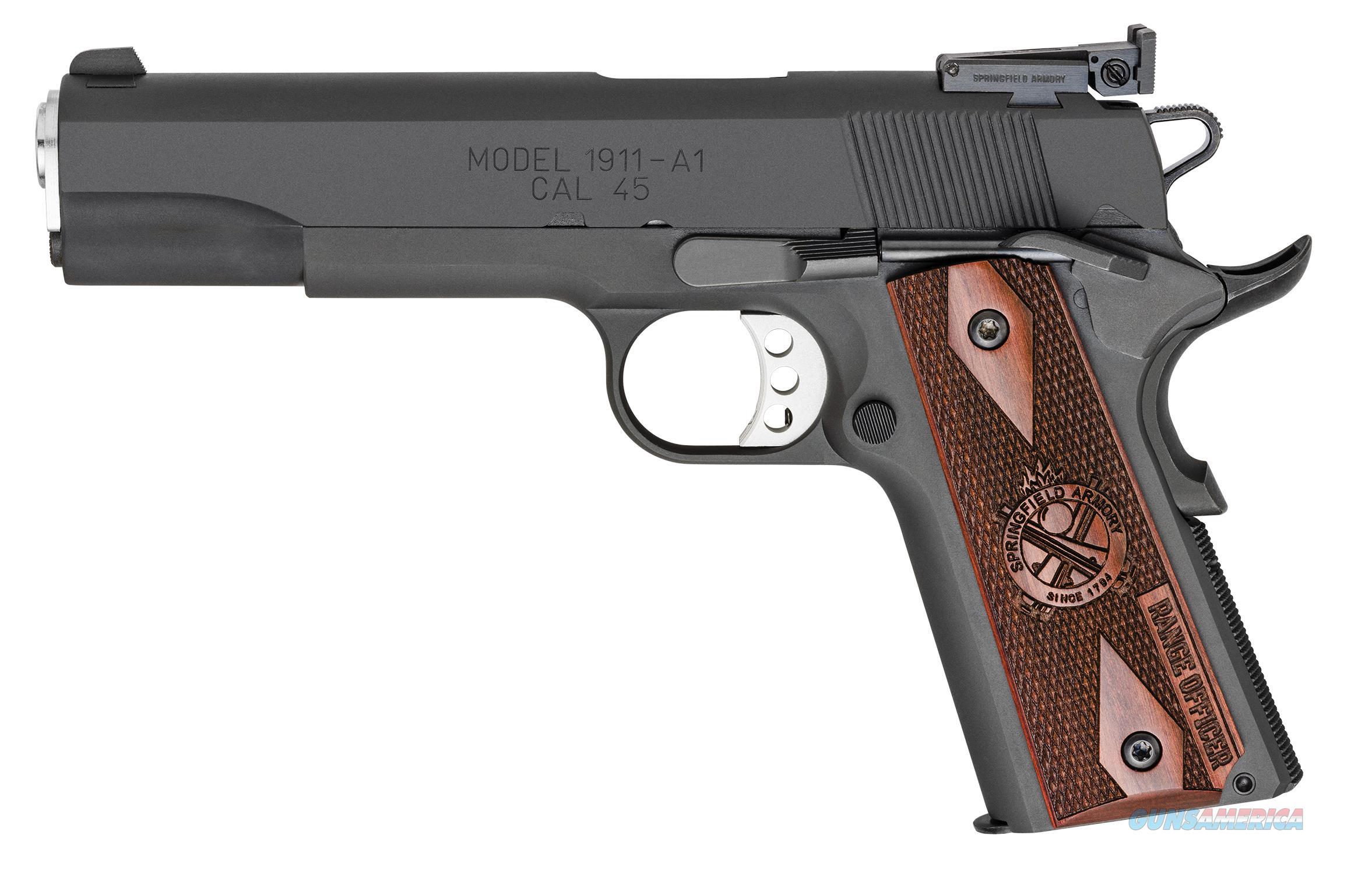"Springfield 1911 Range Officer .45 ACP 5"" Parkerized PI9128L   Guns > Pistols > Springfield Armory Pistols > 1911 Type"