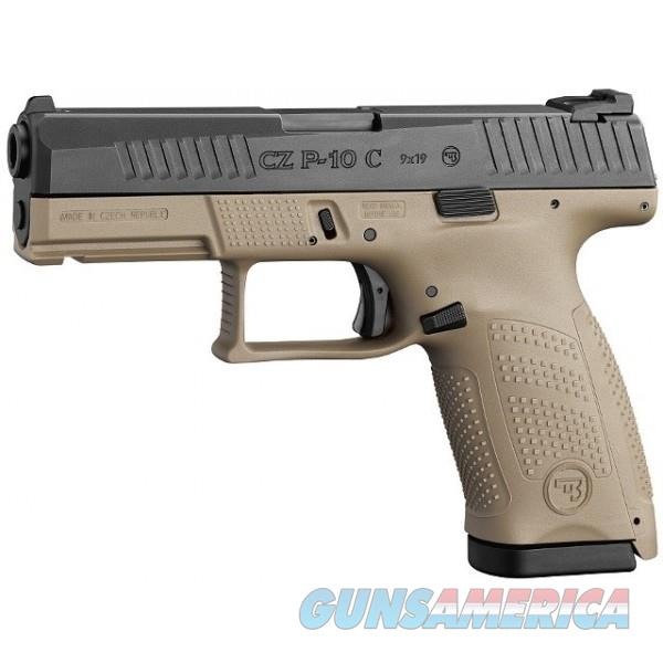 """CZ-USA CZ P-10 C FDE 9MM Luger 4.02"""" 15 Rds 91521   Guns > Pistols > CZ Pistols"""