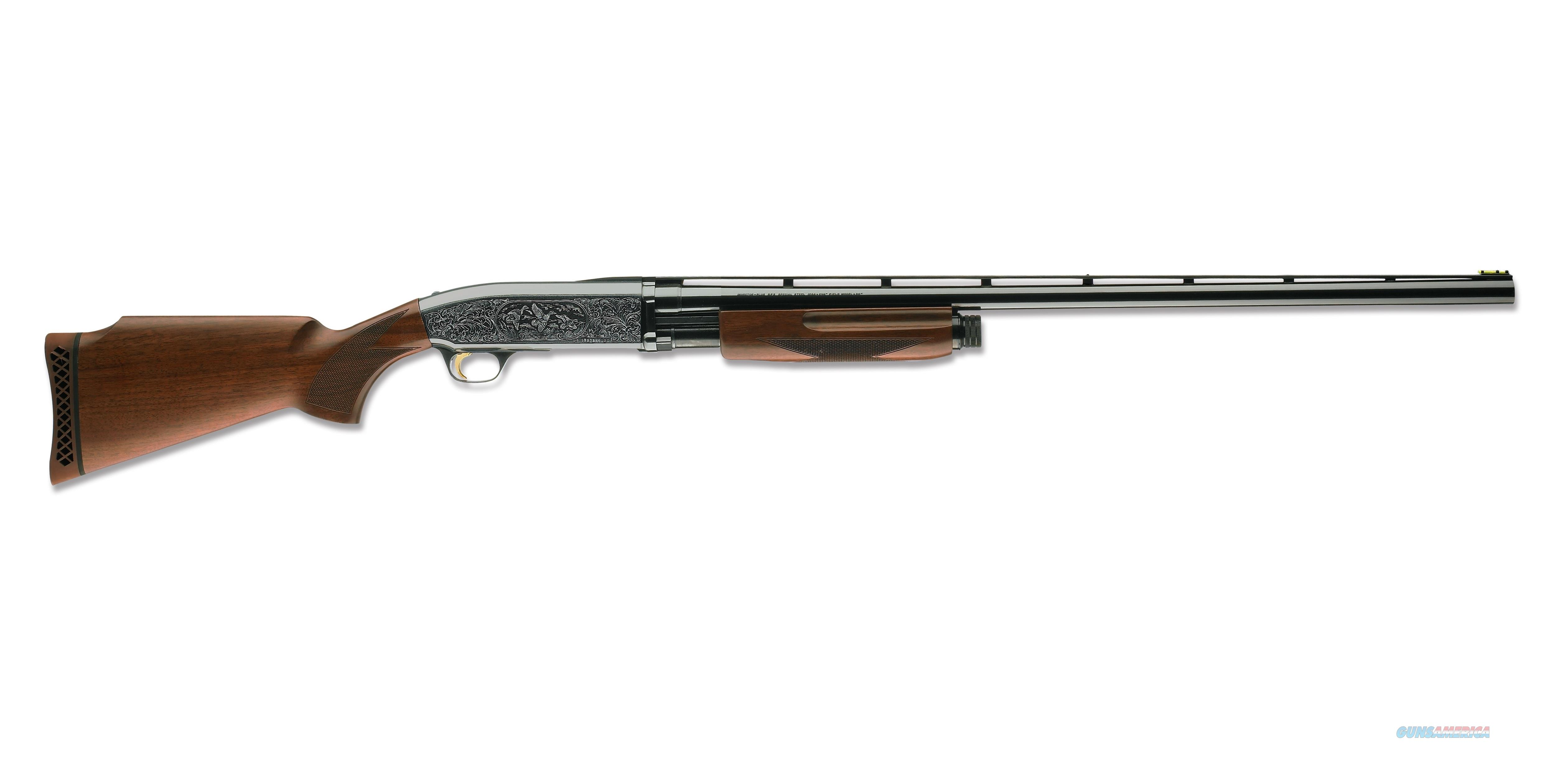 "Browning BPS Trap Engraved Shotgun 12 Gauge 30"" 012242403   Guns > Shotguns > Browning Shotguns > Pump Action > Trap/Skeet"