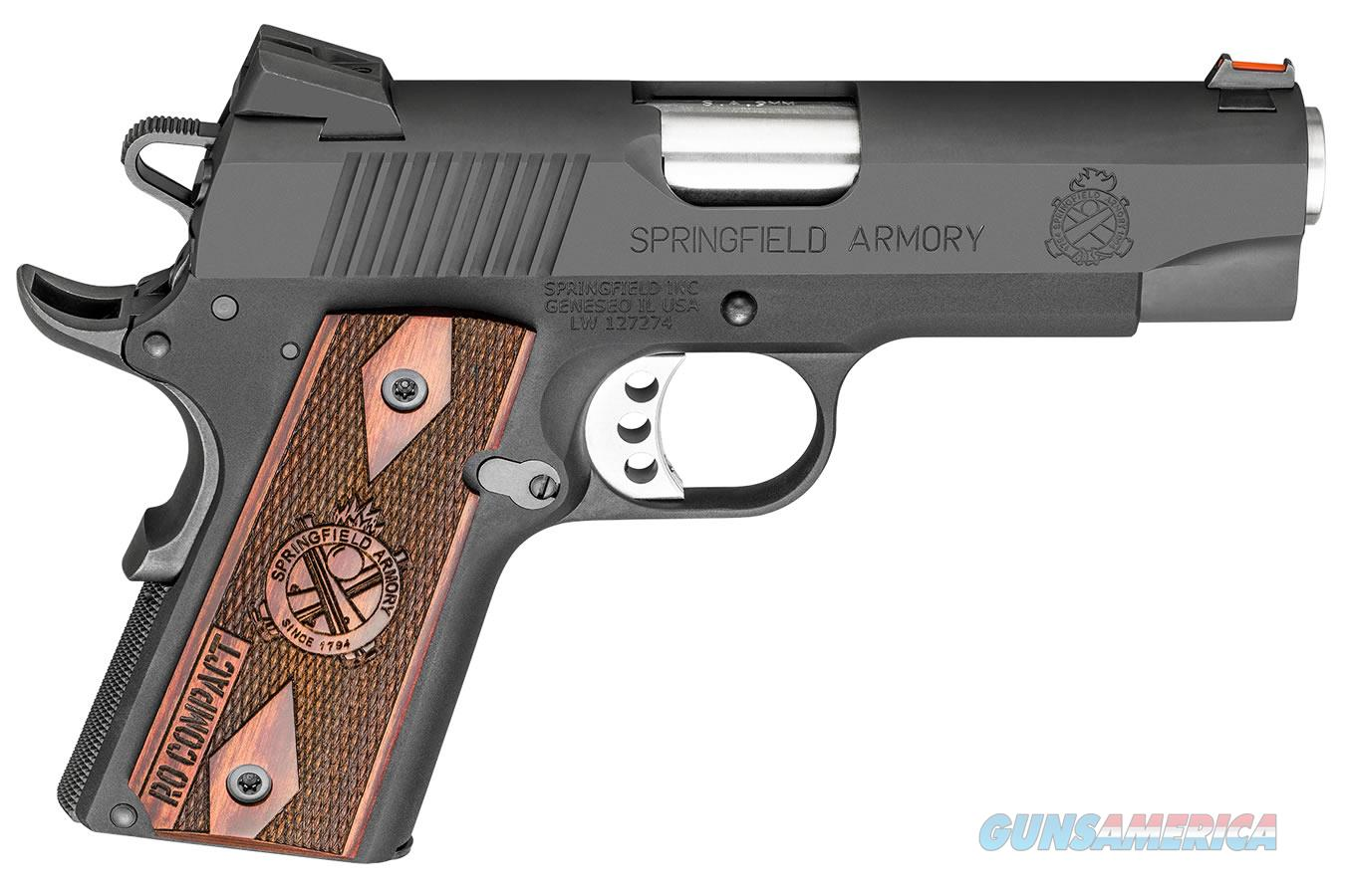 "Springfield 1911 Range Officer Compact 9mm 4"" 8Rds PI9125L   Guns > Pistols > Springfield Armory Pistols > 1911 Type"