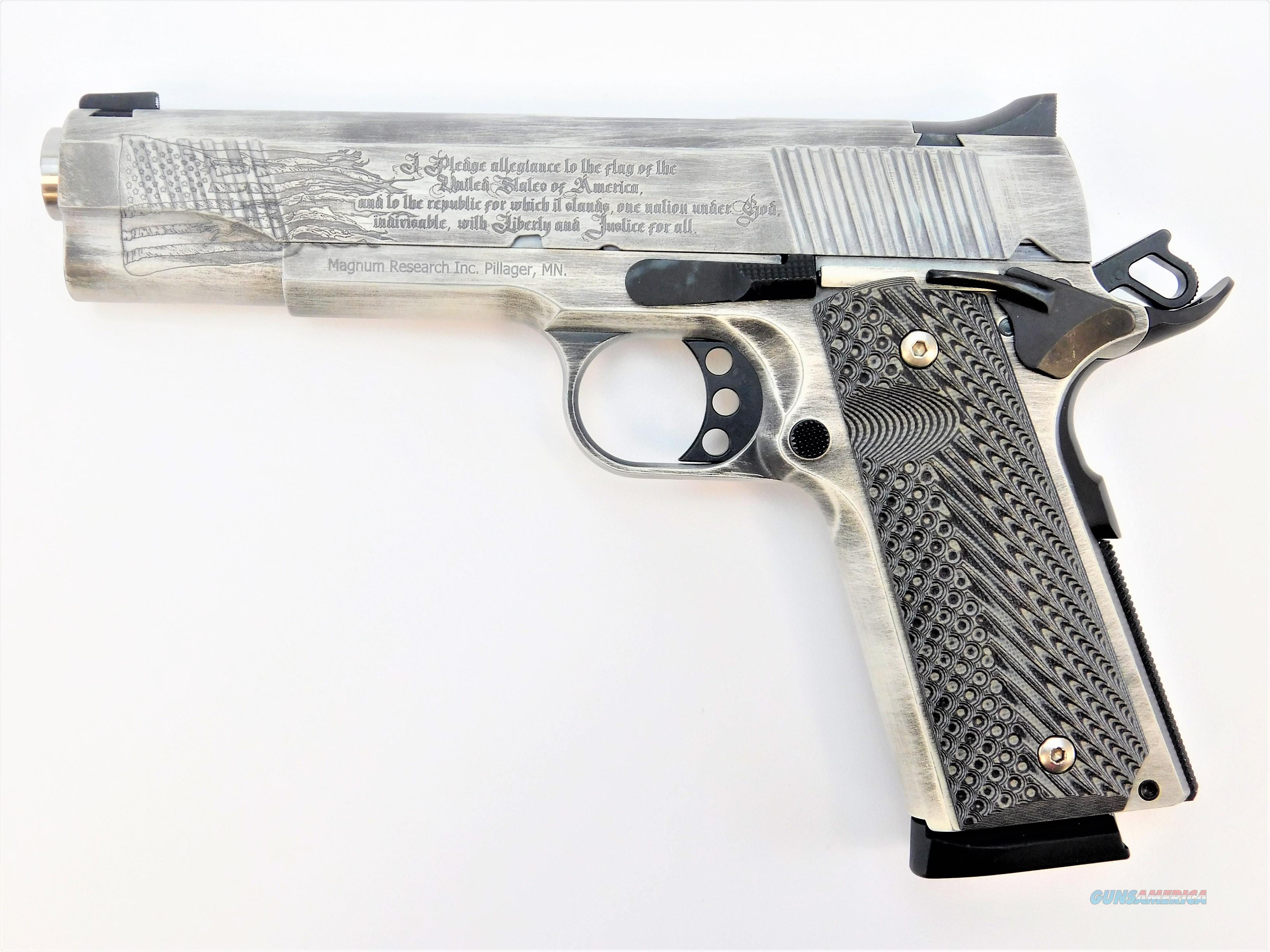 "Magnum Research Desert Eagle 1911 PLEDGE 9mm 5"" 10Rd DE1911G9C1   Guns > Pistols > Magnum Research Pistols"