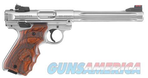 "Ruger Mark IV Hunter Stainless .22 LR 6.88"" 40160   Guns > Pistols > Ruger Semi-Auto Pistols > Mark I/II/III/IV Family"