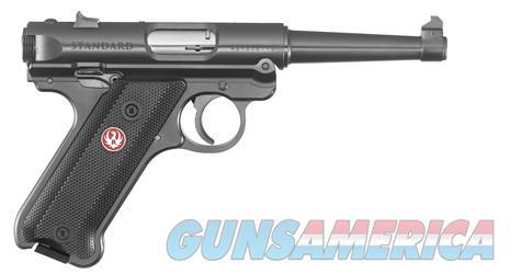 "Ruger Mark IV Standard .22 LR 4.75"" Blued 40104  Guns > Pistols > Ruger Semi-Auto Pistols > Mark I/II/III/IV Family"