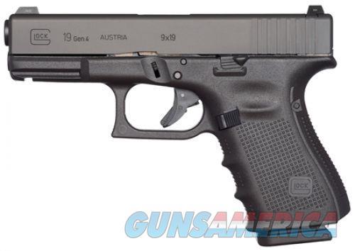"""GLOCK G19 Gen4 MOS 9mm 4.02"""" 15 Rds PG1950203MOS  Guns > Pistols > Glock Pistols > 19"""