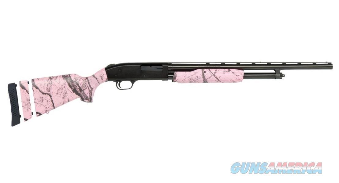Mossberg 500 Super Bantam Pink Marble 20 ga 54147  Guns > Shotguns > Mossberg Shotguns > Pump > Sporting