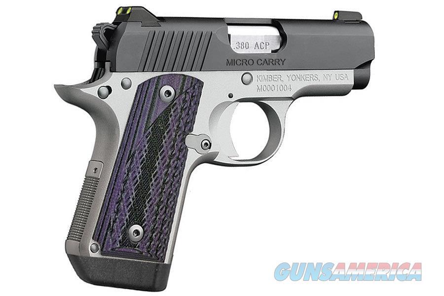 Kimber Micro Advocate Purple .380 ACP 3300086  Guns > Pistols > Kimber of America Pistols > Micro