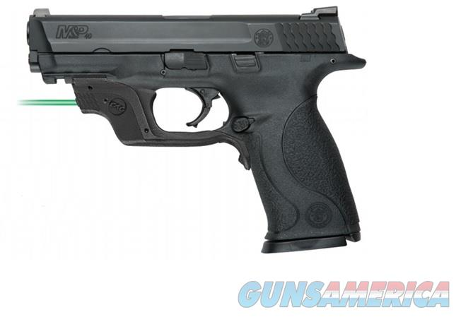 "Smith & Wesson M&P40 .40 S&W Crimson Trace Green Laser 4.25"" 10175   Guns > Pistols > Smith & Wesson Pistols - Autos > Steel Frame"