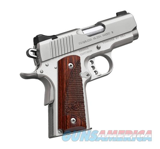 "Kimber 1911 Stainless Ultra Carry II .45 ACP 3"" 3200330  Guns > Pistols > Kimber of America Pistols"