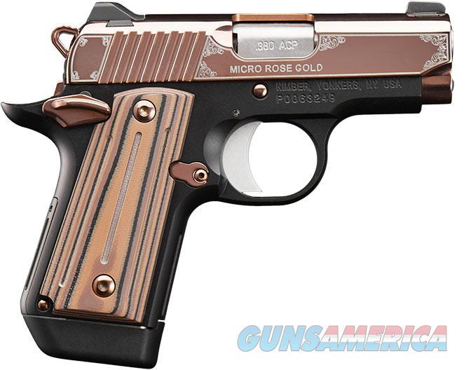 "Kimber Micro Rose Gold .380 ACP 2.75"" 7 Rds 3300173   Guns > Pistols > Kimber of America Pistols > Micro"