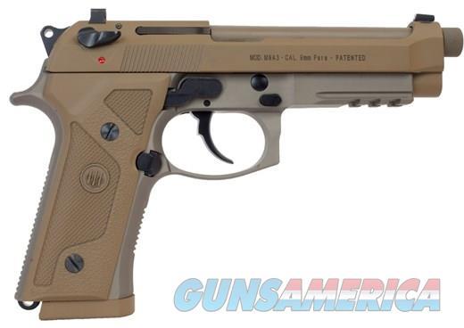 """Beretta M9A3 Type G 9mm FDE 5"""" TB 17 Rounds J92M9A3GM   Guns > Pistols > Beretta Pistols > M9"""