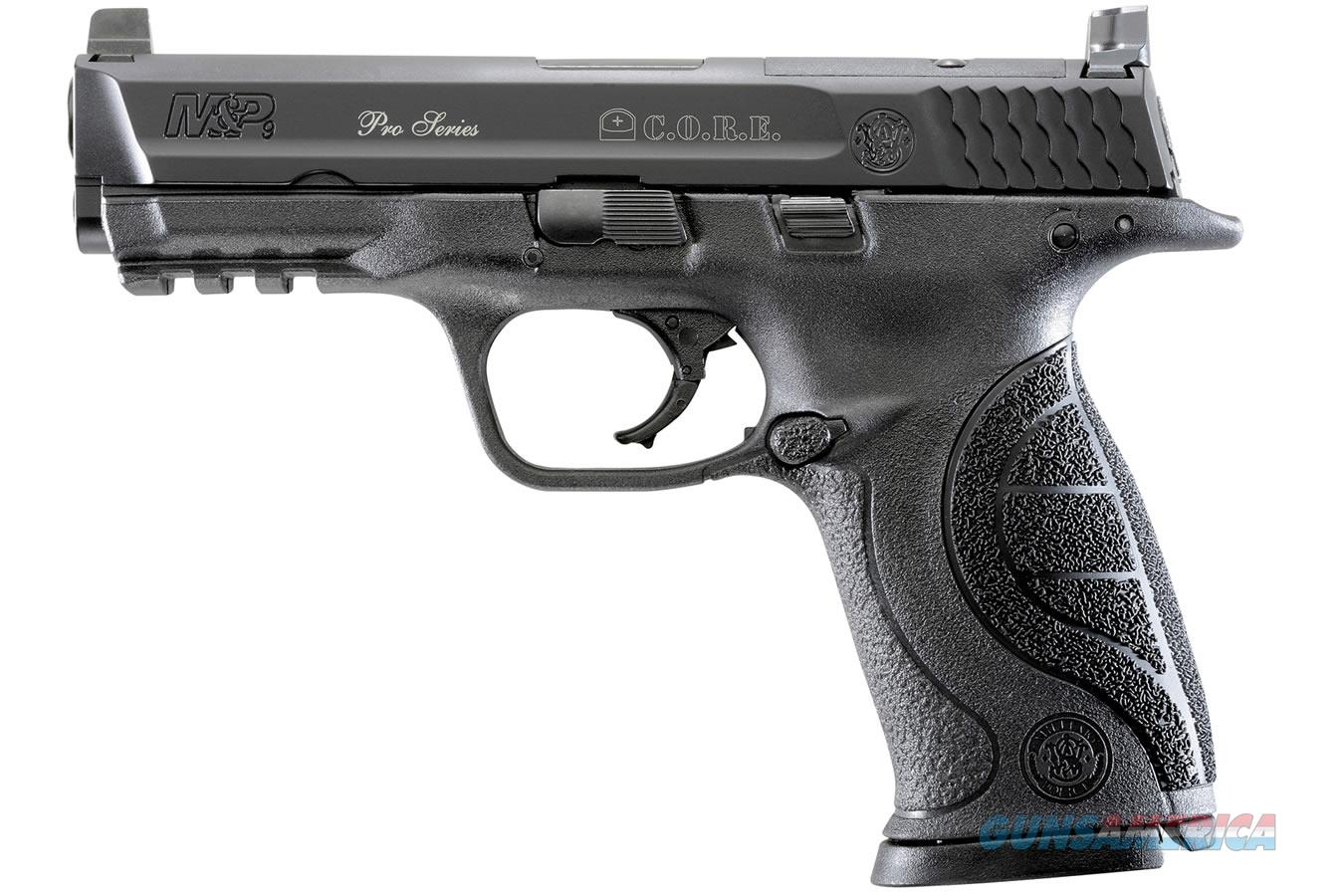 Smith & Wesson M&P9 Pro Series C.O.R.E 9mm 178061  Guns > Pistols > Smith & Wesson Pistols - Autos > Polymer Frame