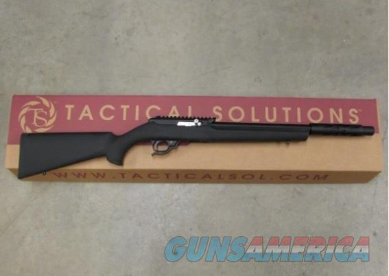TACTICAL SOLUTIONS X-RING SBX RIFLE HOGUE .22 LR BLACK 10/22 SBX-MB-B-H-BLK  Guns > Rifles > Ruger Rifles > 10-22