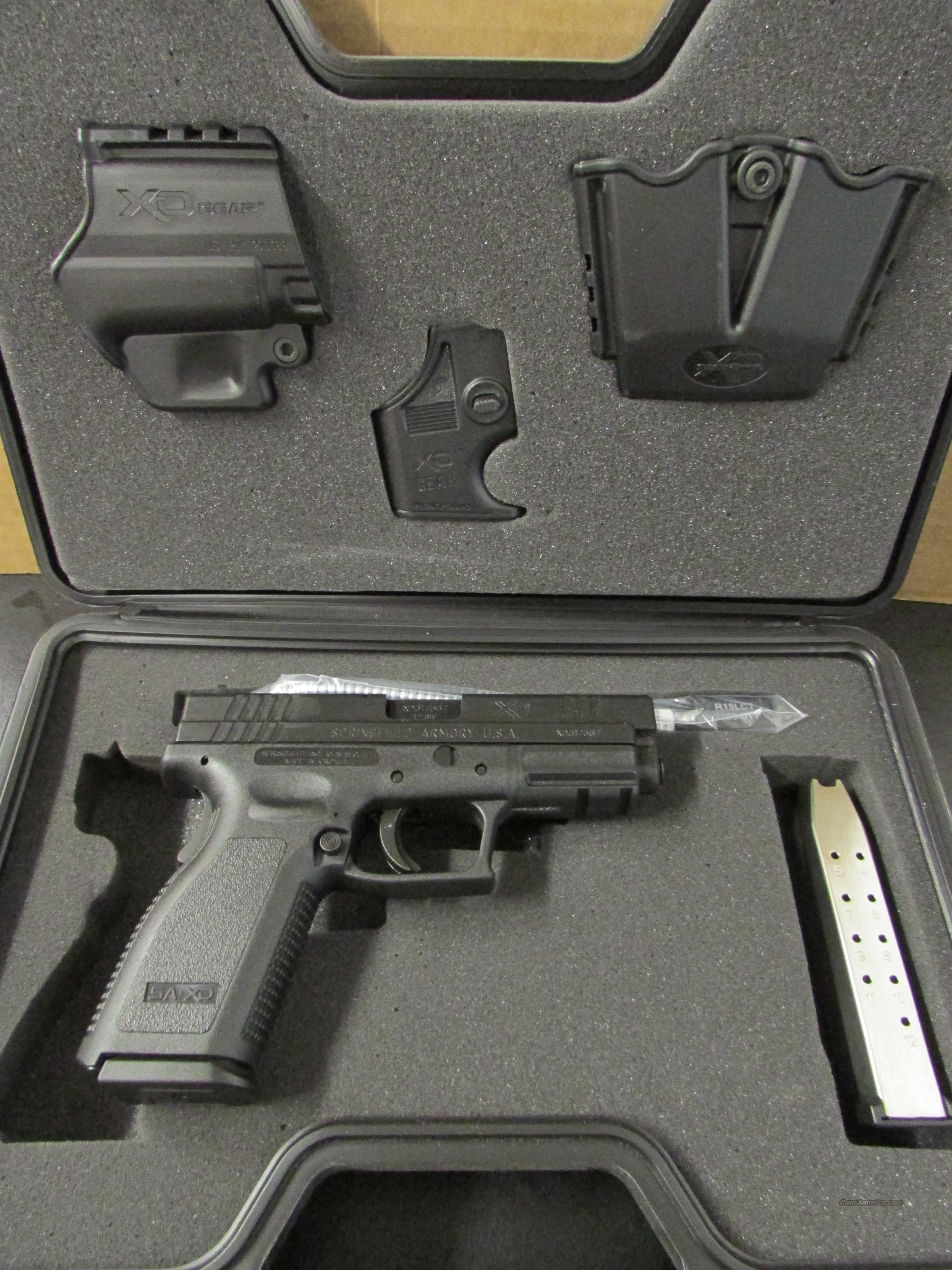 Springfield XD Essential Package .40 S&W XD9102HCSP06  Guns > Pistols > Springfield Armory Pistols > XD (eXtreme Duty)